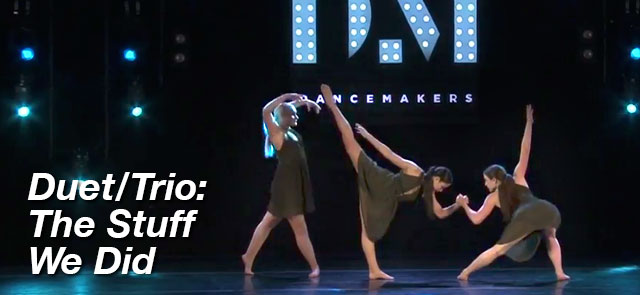 Duet/Trio: The Stuff We Did - The Movement Studio Dance