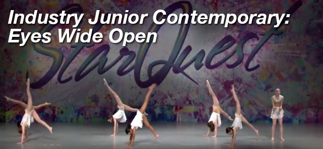 Industry Junior Contemporary: Eyes Wide Open - The Movement Studios Dance