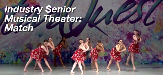 Industry Senior Musical Theatre: Match - The Movement Studios Dance