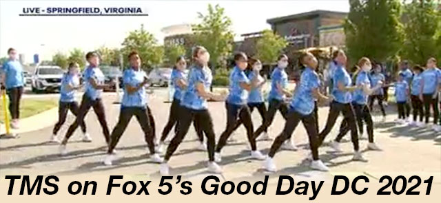 TMS on Fox 5's Good Day DC 2021